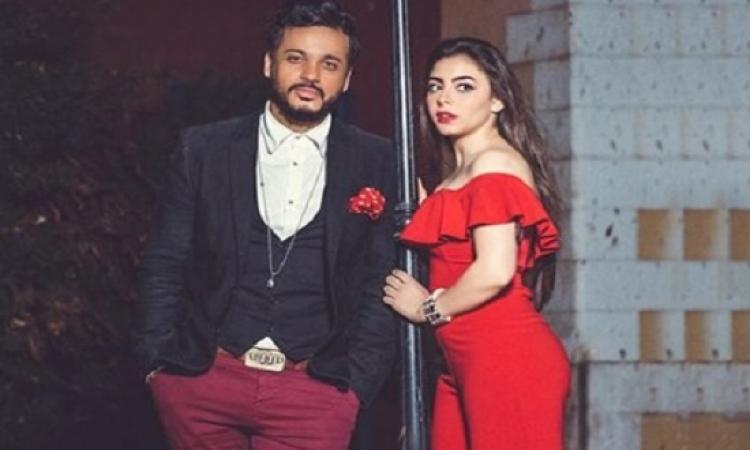 بالصور .. جلسة تصوير رومانسية لإيساف وإلهام عبد البديع