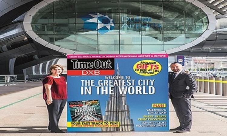 """مطارات دبي و""""آي تي بي"""" الإعلامية يطلقان علامة تجارية إعلامية غير مسبوقة"""