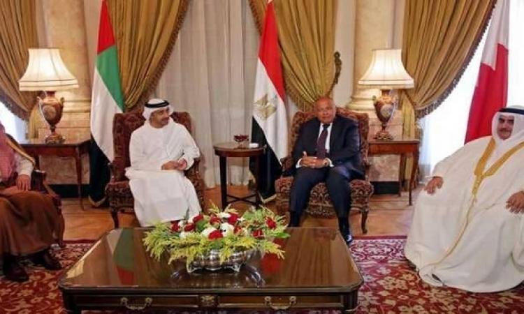 الرباعى العربى يستنكر تقريراً للأمم المتحدة بشأن قطر