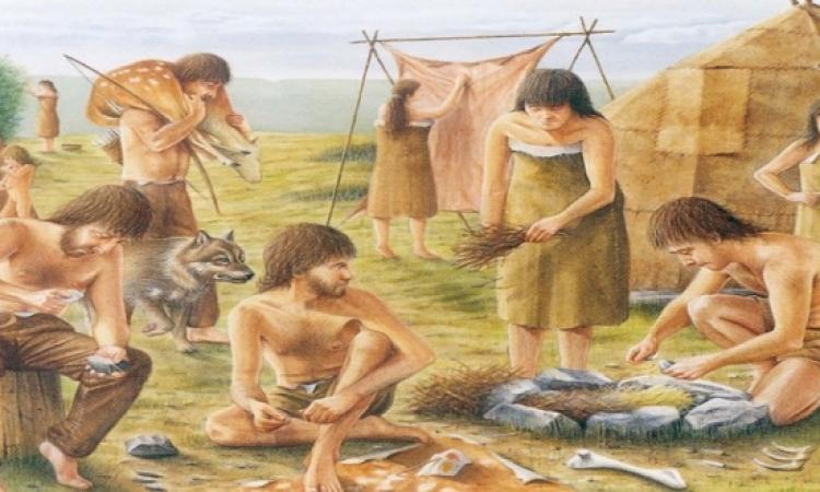 كيف كانت حياة الأطفال فى العصر الحجرى ؟!