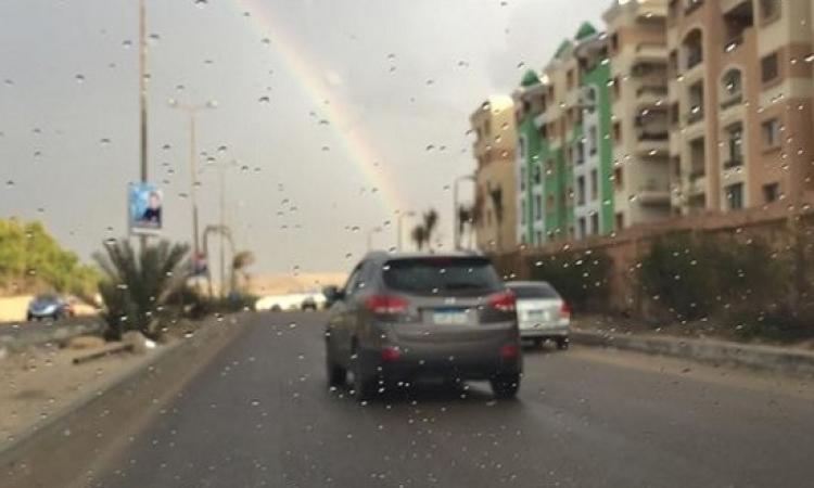 أمطار خفيفة على القاهرة .. والعظمى 23