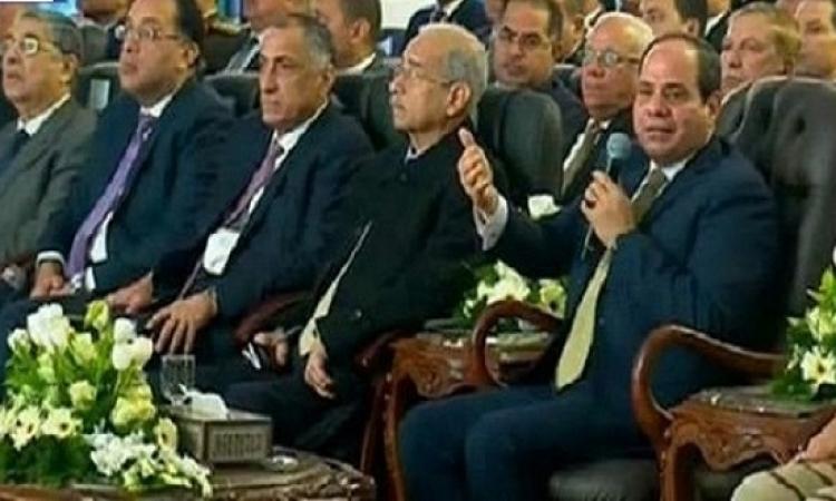 """السيسي في افتتاح حقل """"ظُهر"""": حديث سياسي حاد يطغي على الاقتصاد"""