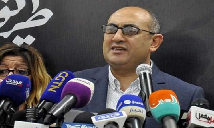 بعد واقعة التحرش .. خالد على يعتذر ويستقيل من «العيش والحرية»