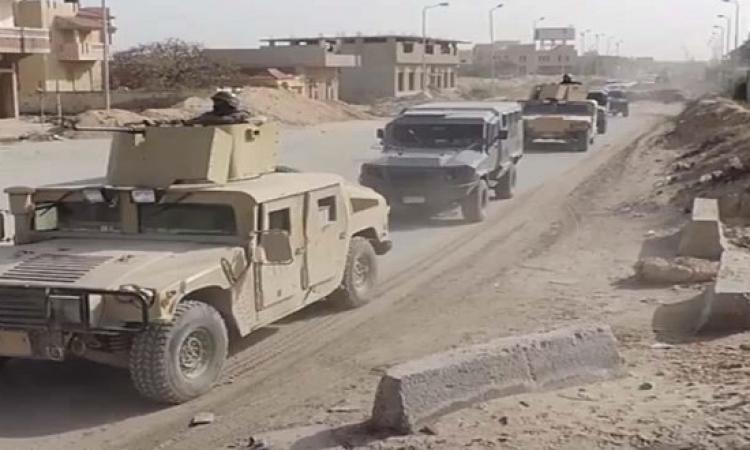 بالفيديو .. فى بيانه الـ17 لسيناء 2018 .. القوات المسلحة تقضى على 5 تكفيريين بشمال سيناء