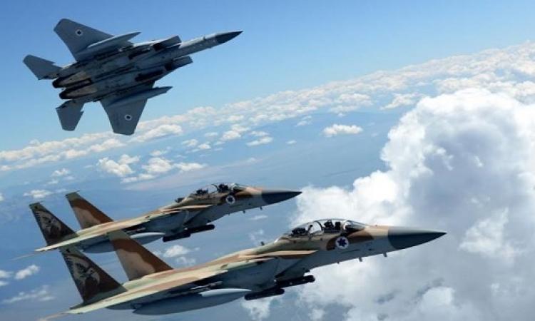 غارات انتقامية لاسرائيل بعد اسقاط طائراة اسرائيلية فى سوريا