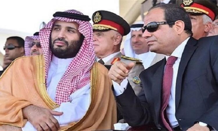 الرئيس السيسى وولى العهد السعودى يتفقدان مشروعات قومية بالإسماعيلية