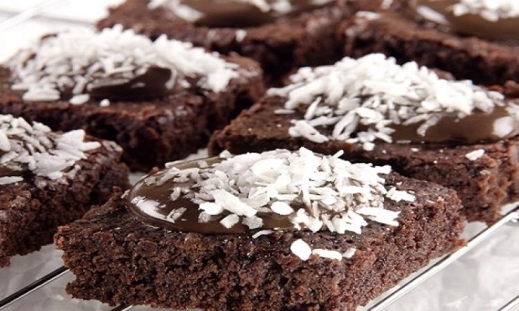 حلو اليوم .. بسبوسة بالشوكولاتة