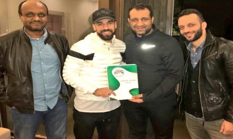 احمد مرتضى ينشر صورة توقيع عبد الله السعيد