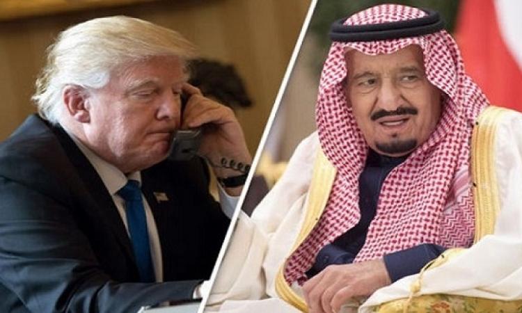 العاهل السعودى والرئيس الامريكى يتفقان على ضرورة التصدى لإيران