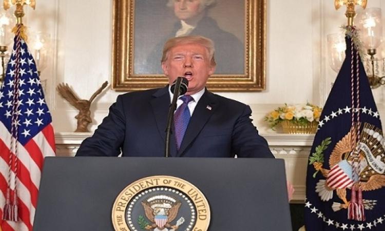 ترامب يشيد بالضربة المشتركة فى سوريا ويعلن إتمام المهمة