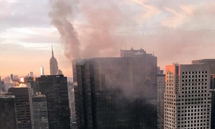 ارتفاع حصيلة ضحايا حريق برج ترامب إلى قتيل و6 مصابين