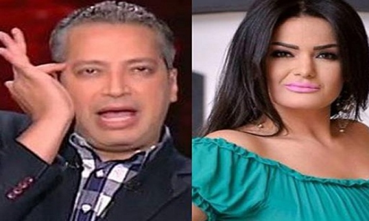 بالصور .. سما المصري تقصف جبهة تامر أمين !!