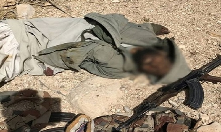 بالصور .. القوات المسلحة تعلن تصفية أمير التنظيم الإرهابى بوسط سيناء