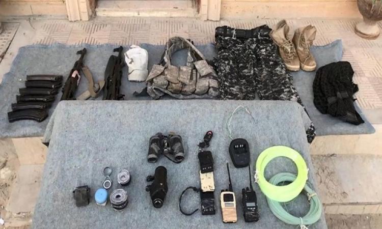 بالصور .. المتحدث العسكرى ينشر صوراً جديدة من عملية سيناء 2018