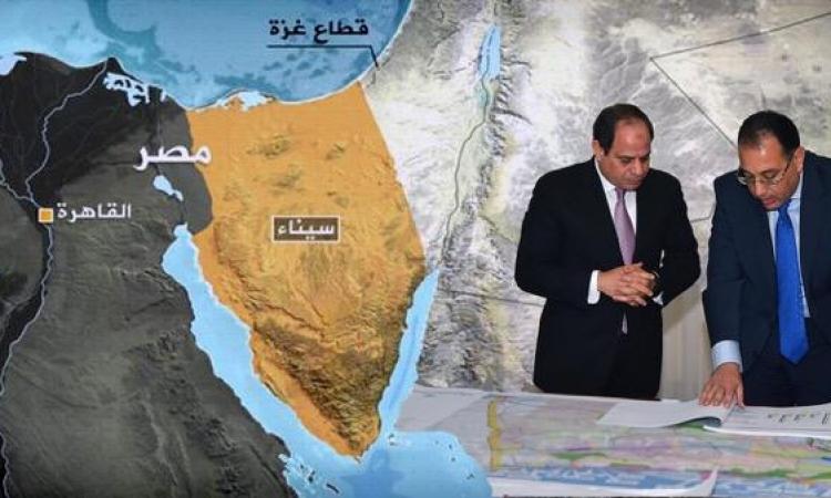 الحكومة تسعى لاقتراض 5 مليارات دولار لتنمية سيناء