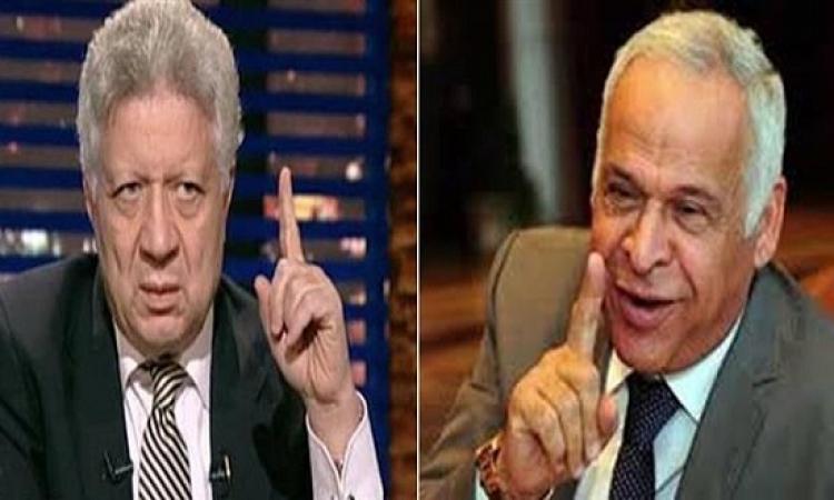 مرتضى منصور: جاهزون لمواجهة سموحة بتحكيم مصرى أو أجنبى