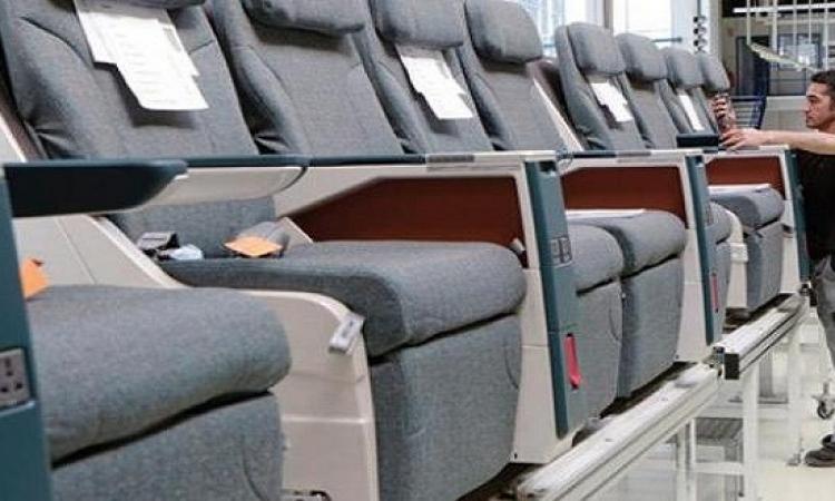 قريبًا .. مقاعد طائرات تنظف نفسها وتدلك قدميك