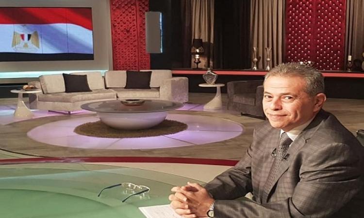 بالصور .. عودة توفيق عكاشة على شاشة قناة الحياة قريباً