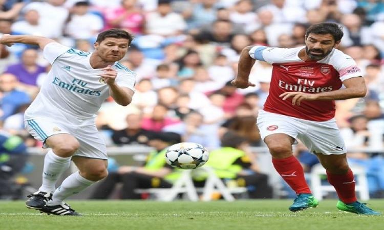قمة مثيرة بين ريال مدريد وأرسنال تنتهى بـ3 أهداف