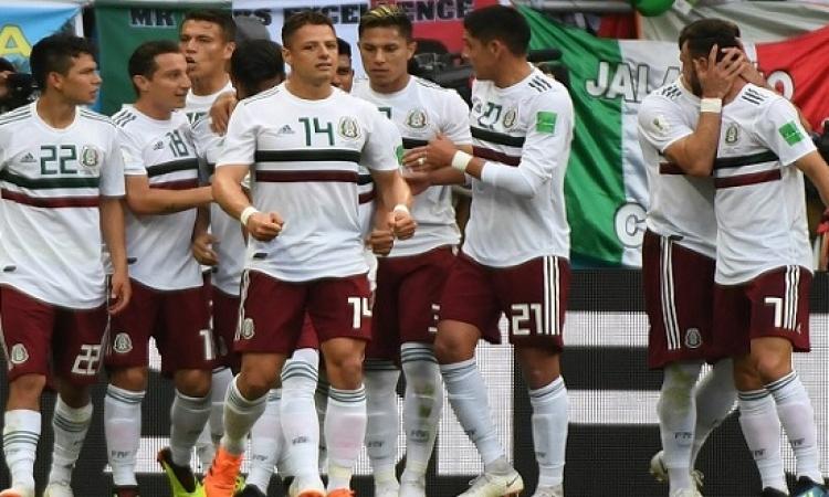 المكسيك يواجه السويد فى معركة تكسير العظام