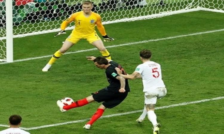 كرواتيا تصيب إنجلترا فى مقتل وتصعد لنهائى كأس العالم