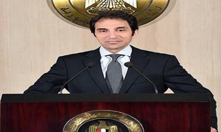 السفير بسام راضى : الرئيس السيسى يفتتح أكبر مجمع صناعى فى بنى سويف