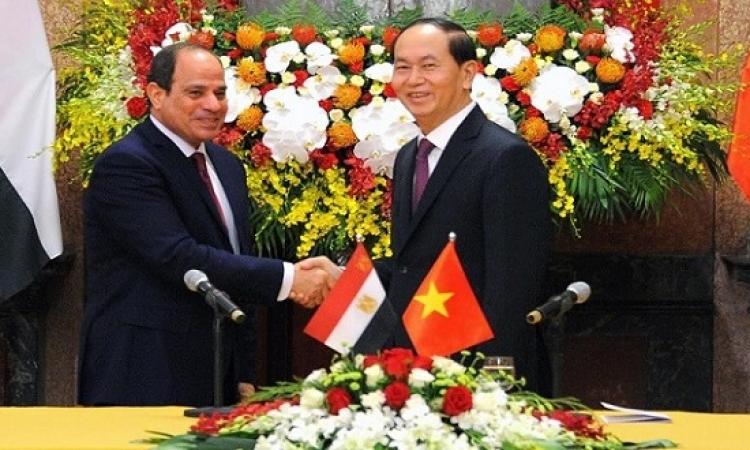 قمة مصرية – فيتنامية اليوم بالقاهرة بين الرئيسين السيسى وكوانج