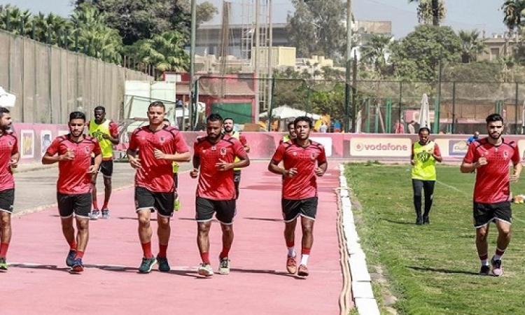 الأهلي يواصل استعداداته لمواجهة النجمة اللبنانية بالبطولة العربية