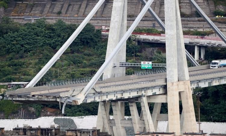 وكالة أنسا الإيطالية: ارتفاع عدد ضحايا انهيار جسر جنوة إلى 35 شخصا
