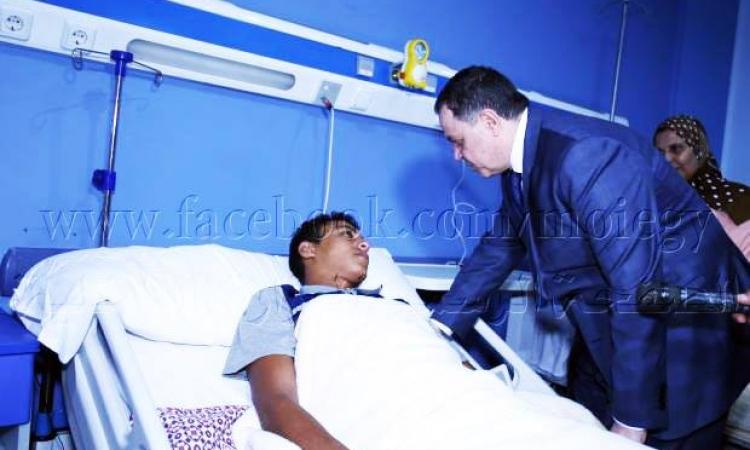 بالصور .. وزير الداخلية : إقدام رجال الشرطة على التضحية فداء للوطن يعد مثالاً رائعاً يحتذى به