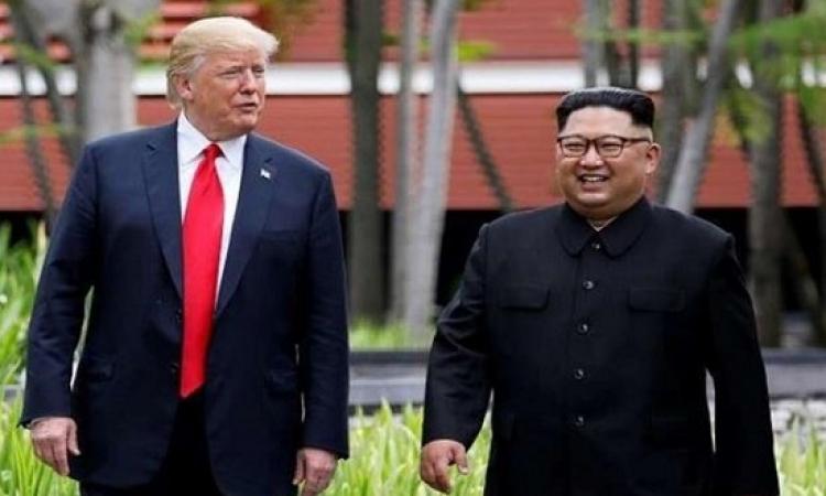 ترامب عن زعيم كوريا الشمالية : تبادلنا التهديدات ثم وقعنا في الحب !!