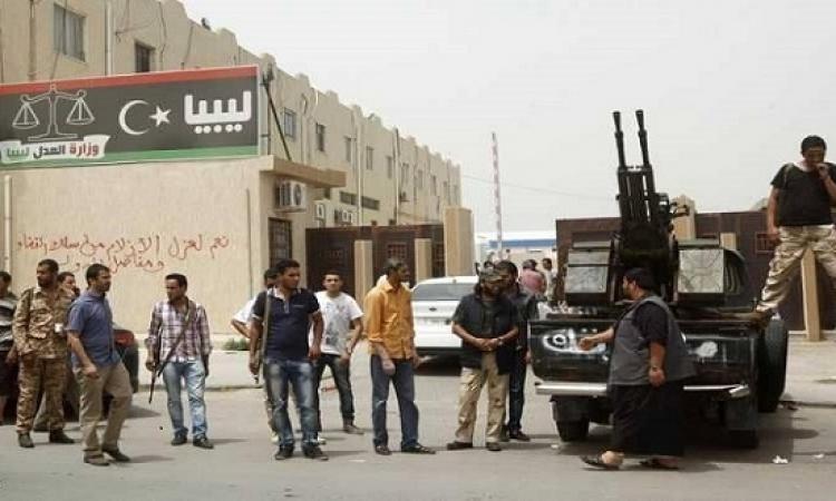 قتلى وجرحى خلال عملية اقتحام مسلحين لمؤسسة النفط الوطنية فى طرابلس