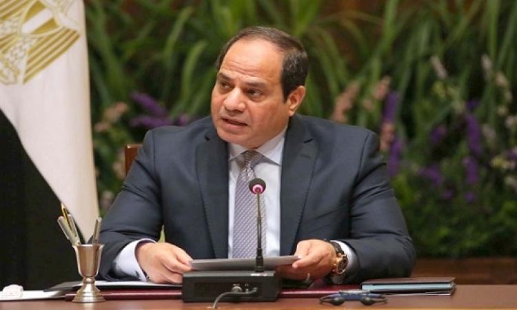 """السيسى يجرى اتصالاً بـ """"سلفا كير"""".. ويؤكد حرص مصر على دعم جوبا"""