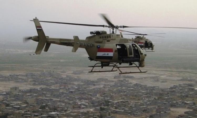 الطيران العراقى يقصف أوكاراً لداعش بمحافظة صلاح الدين