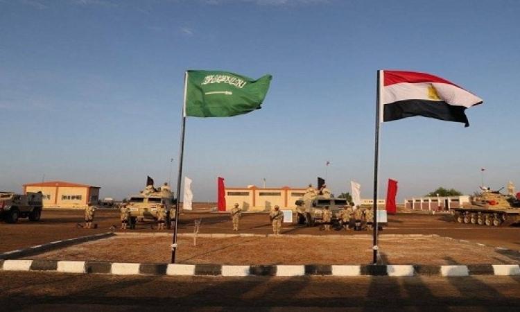 انطلاق اعمال التدريب العسكرى المصرى السعودى تبوك 4