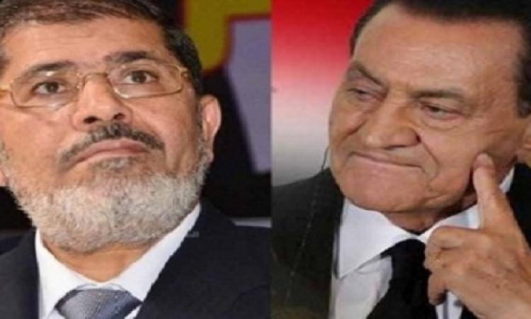 لأول مرة .. مبارك يواجه مرسى فى المحكمة ديسمبر المقبل