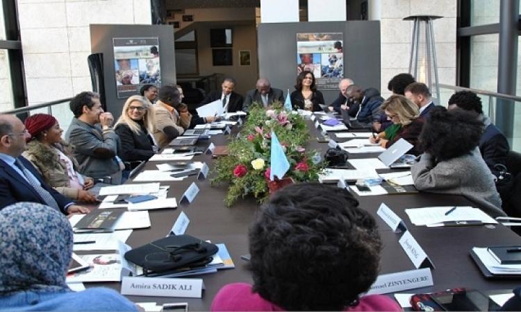 افتتاح اجتماع خبراء إيكروم أفريقيا للحفاظ على التراث الثقافي فى روما