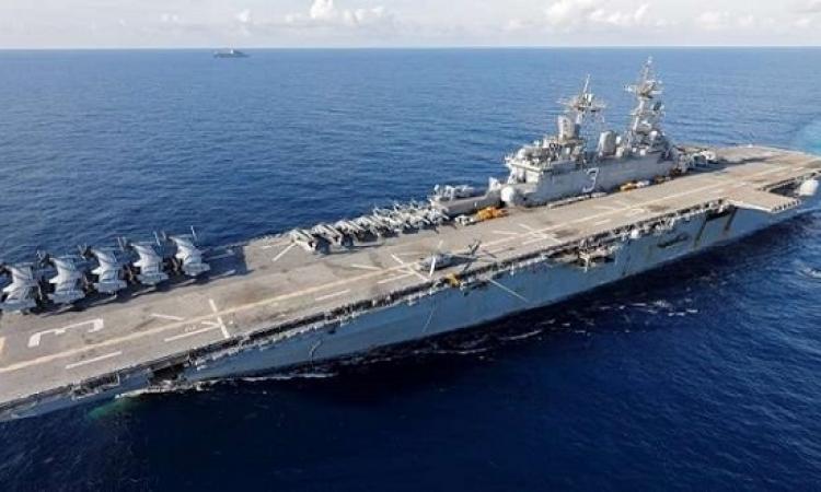 سفن حربية أمريكية وقوات من المارينز باتجاه سوريا للمساعدة فى سحب القوات