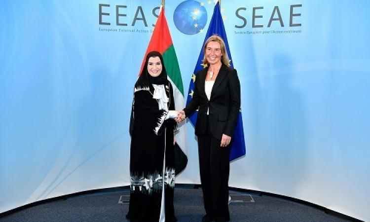 موغرينى : الإمارات حليف قوي للاتحاد الأوروبي ونقدر دعمها للحل السلمي في اليمن