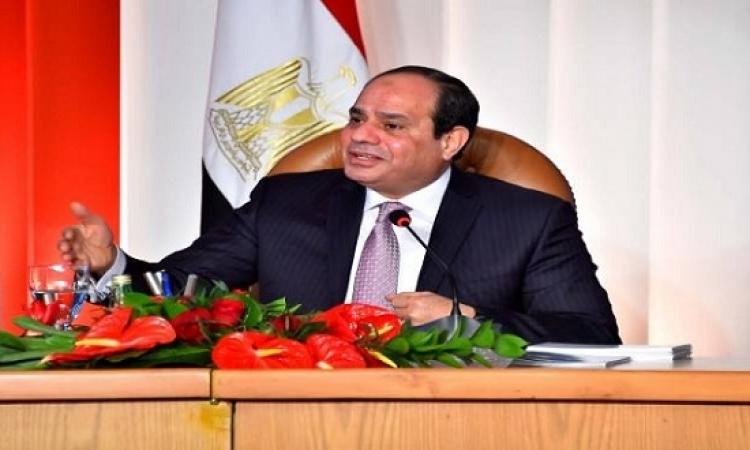 الرئيس السيسى يؤكد موقف مصر الثابت تجاه دعم واستقرار السودان