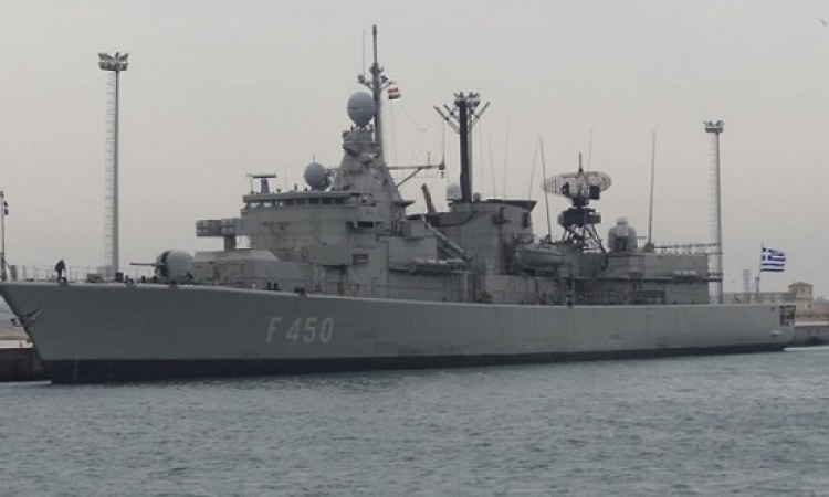 """إنطلاق التدريب البحرى الجوى المشترك """"ميدوزا  8 """" بمشاركة مصر واليونان وقبرص"""