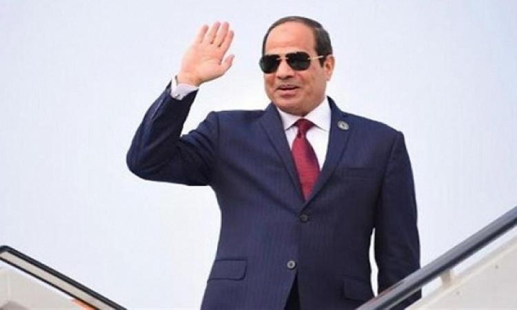 الرئيس السيسى يبدأ غداً جولة أفريقية موسعة تشمل 4 دول