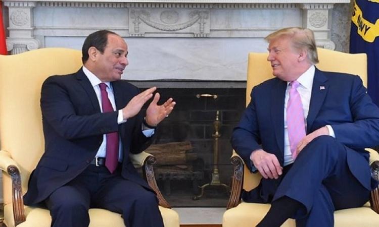"""قمة ترامب – السيسي تتلافى """"تعديلات الدستور"""" وتركز على التجارة"""