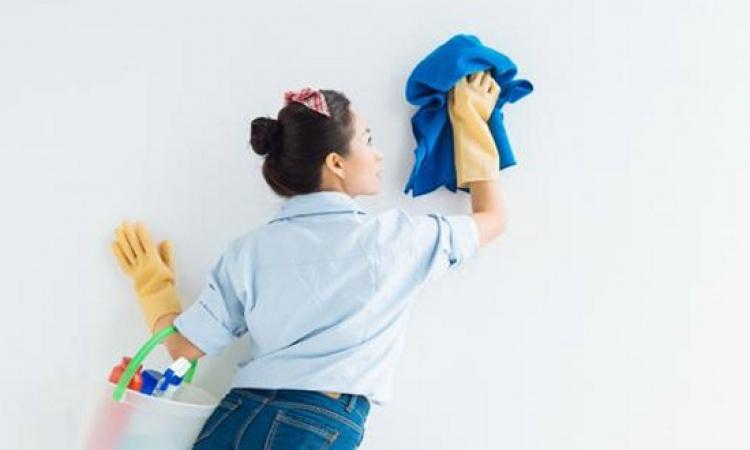 تعرفى على طرق تنظيف حوائط المنزل