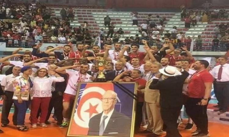 تونس تفوز ببطولة الأمم الإفريقية للكرة الطائرة
