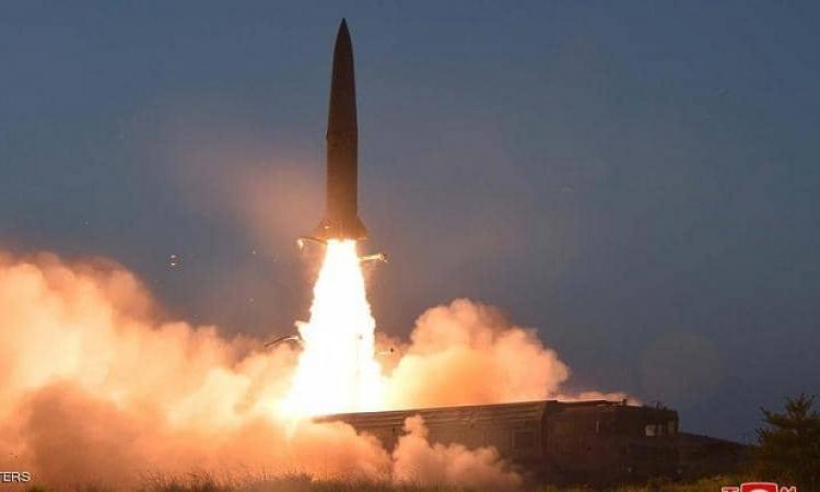 كوريا الشمالية تطلق صاروخين بالستيين سقطا في بحر اليابان