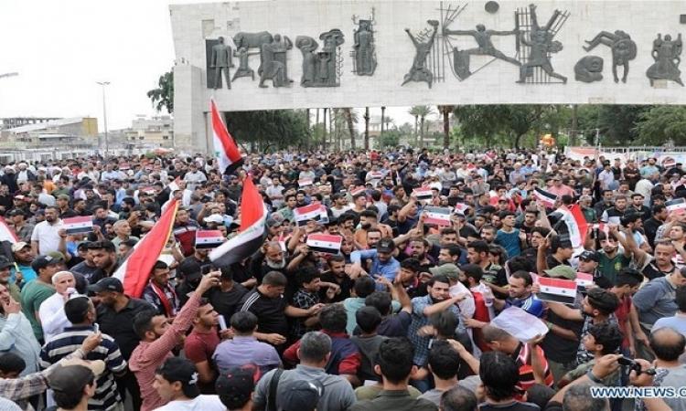 تواصل مظاهرات العراق وارتفاع الضحايا إلى 65 قتيلاً