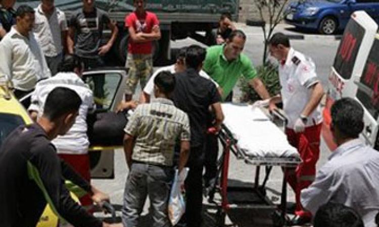إصابة 11 شخصا فى حادث تصاد م ميكروباص ونقل فى أسوان