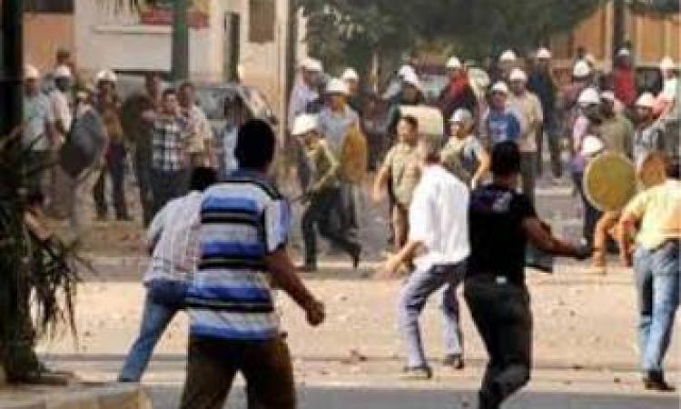 اشتباكات بين قوات الامن وعناصر من تنظيم الاخوان بمنطقة الالف مسكن