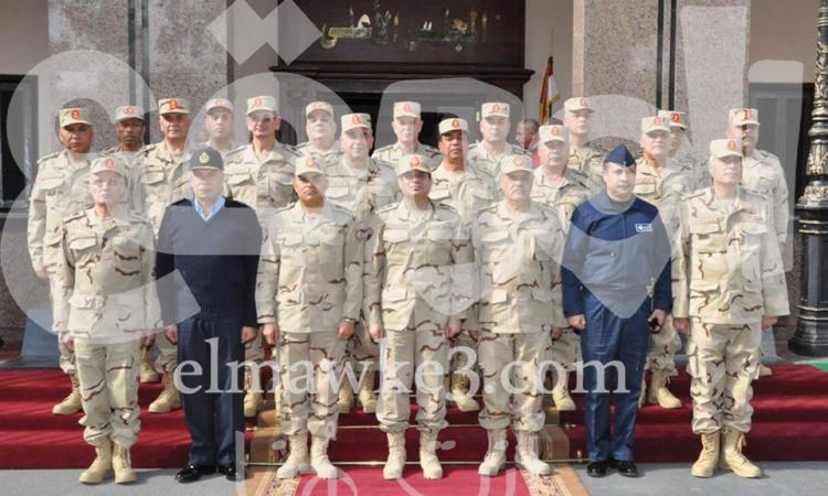 """بالصور … لماذا ظل المشير السيسي """"فريق أول"""" في بيان """"الأعلي للقوات المسلحة """""""